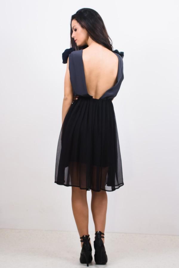 rochie scurta din matase naturala